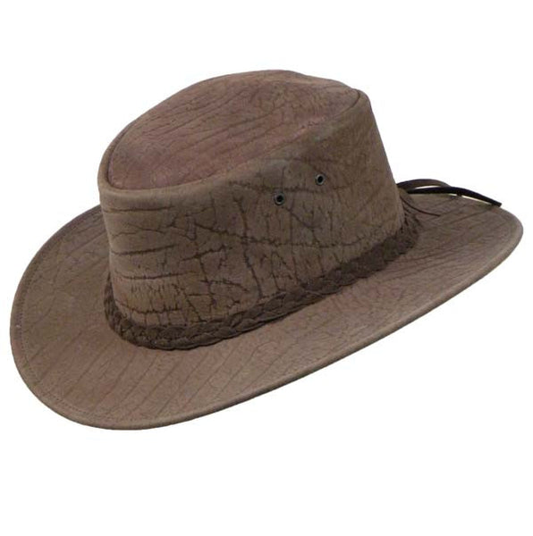 Colonial Hat In Mud Grain