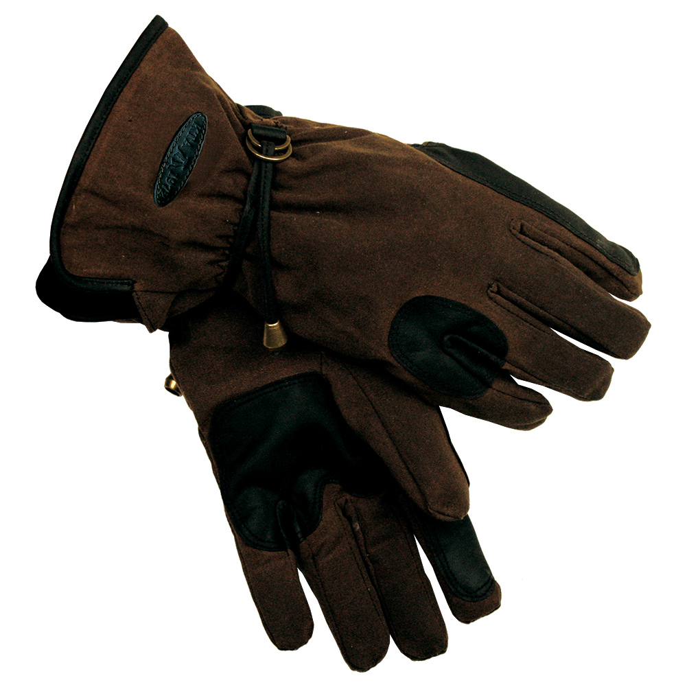 Black riding gloves - Riding Gloves In Brown Brown