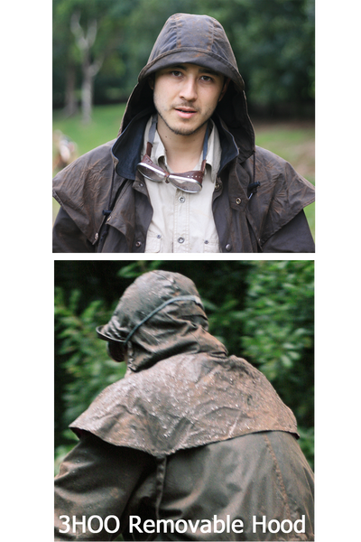 Attachable Hood in Brown