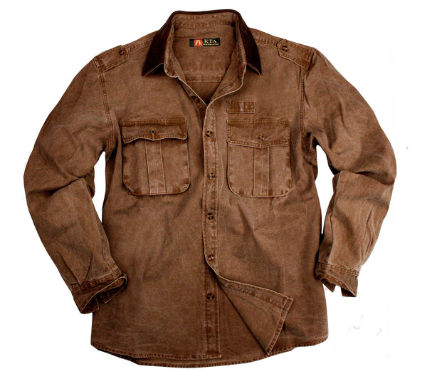 Southern Cross Shirt in Tobacco