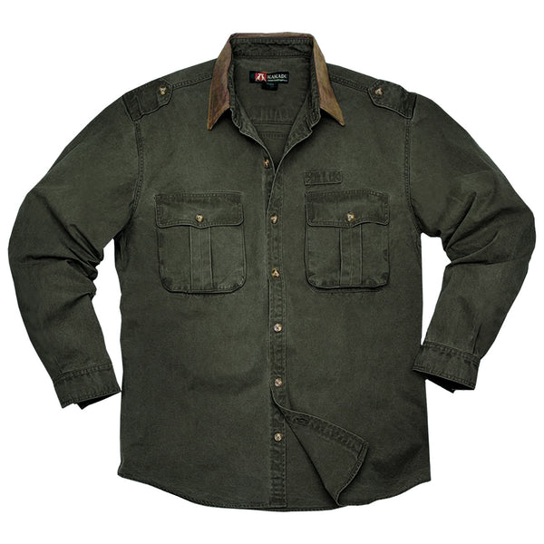 Southern Cross Shirt in Loden Green