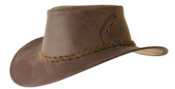 Boomer Hat in Brown