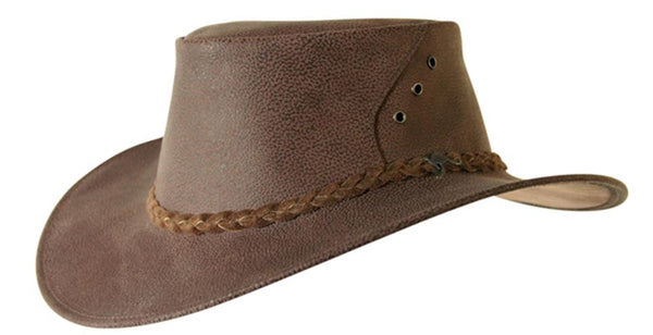 Uluroo Hat in Brown
