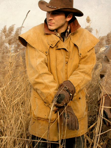Gold Coast Drover Jacket in Mustard