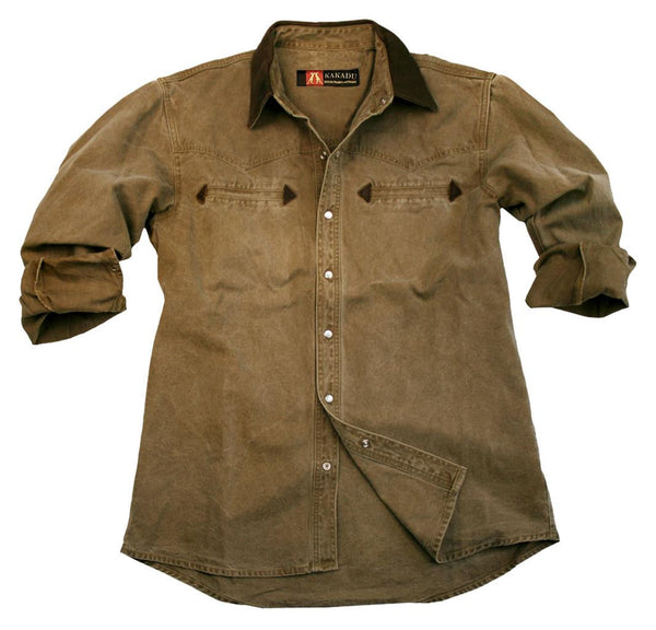 Nashville Shirt in Khaki