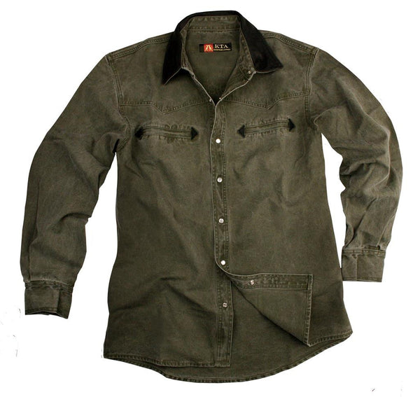 Nashville Shirt in  Loden Green
