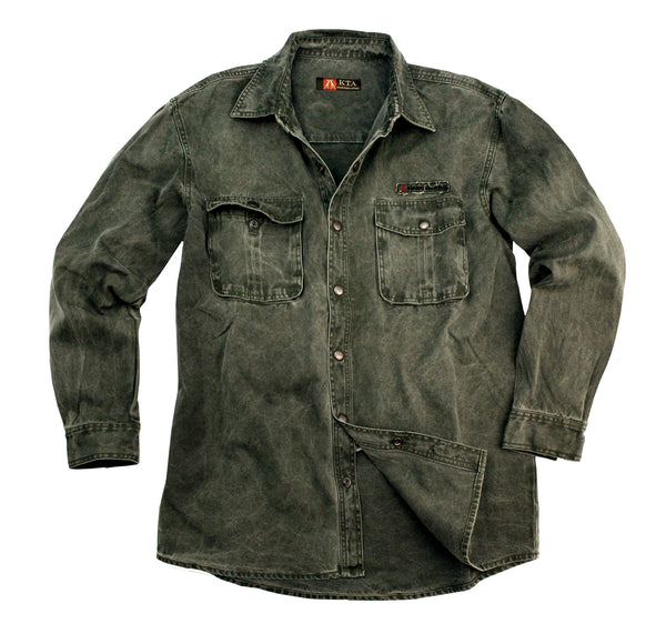 Mcleod Shirt in Loden Green