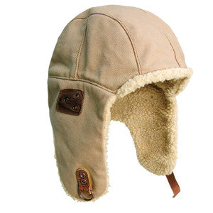 Baron Aviator Hat in Bone