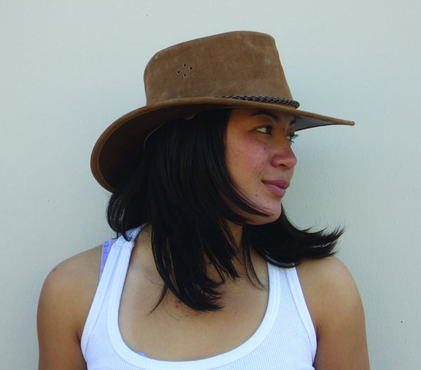 Queenslander Hat in Black
