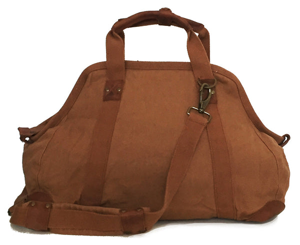 Large Doctor's Bag in Tobacco