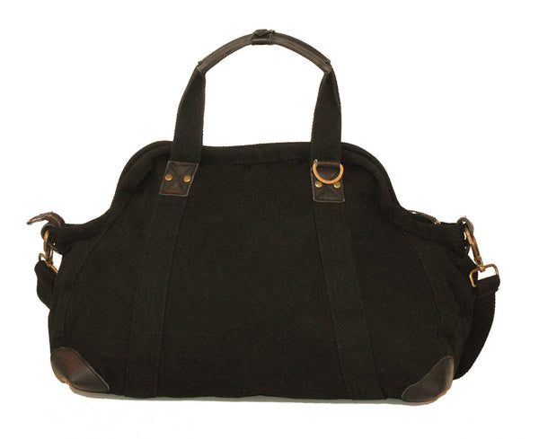 Large Doctor's Bag in Black