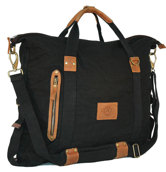 Rhino Convertible Bag in Black