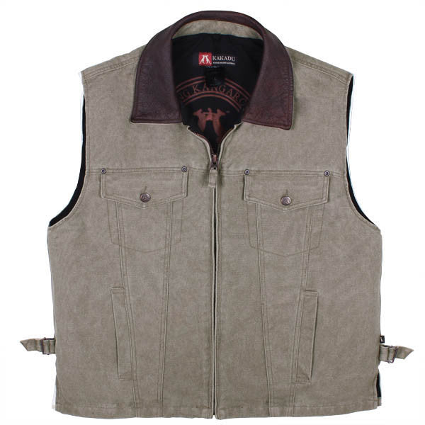 KELLY 12 VEST in Taupe