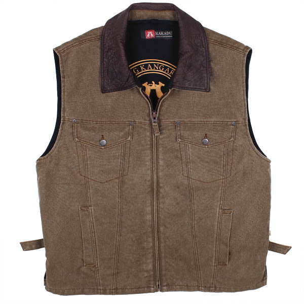 KELLY 12 VEST in Tobacco