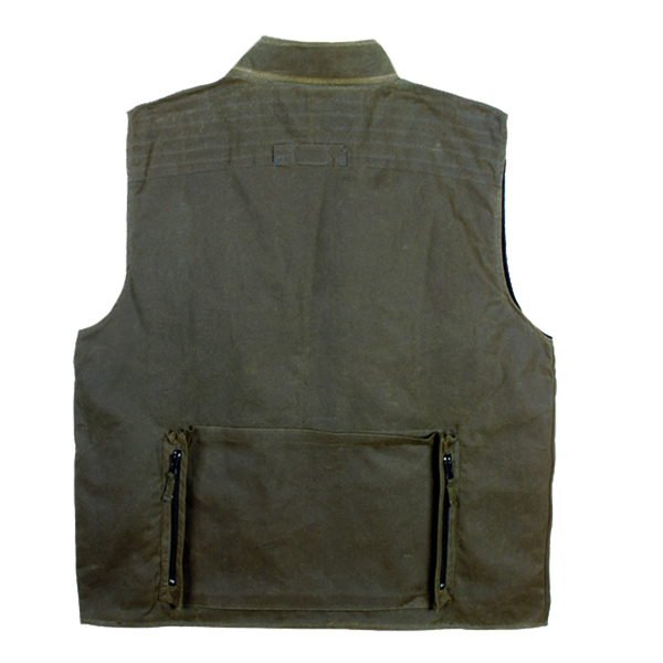 Traveller Multi-Pocket Vest in Olive