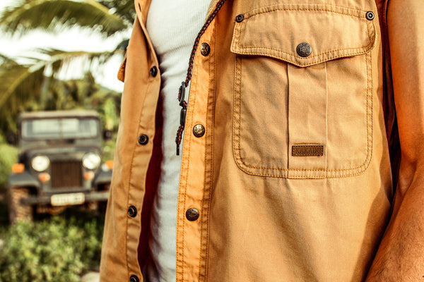 Roston Shirt in Mustard