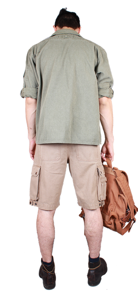 Cargo Shorts in Tobacco