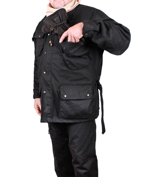 Nelson Jacket in Black