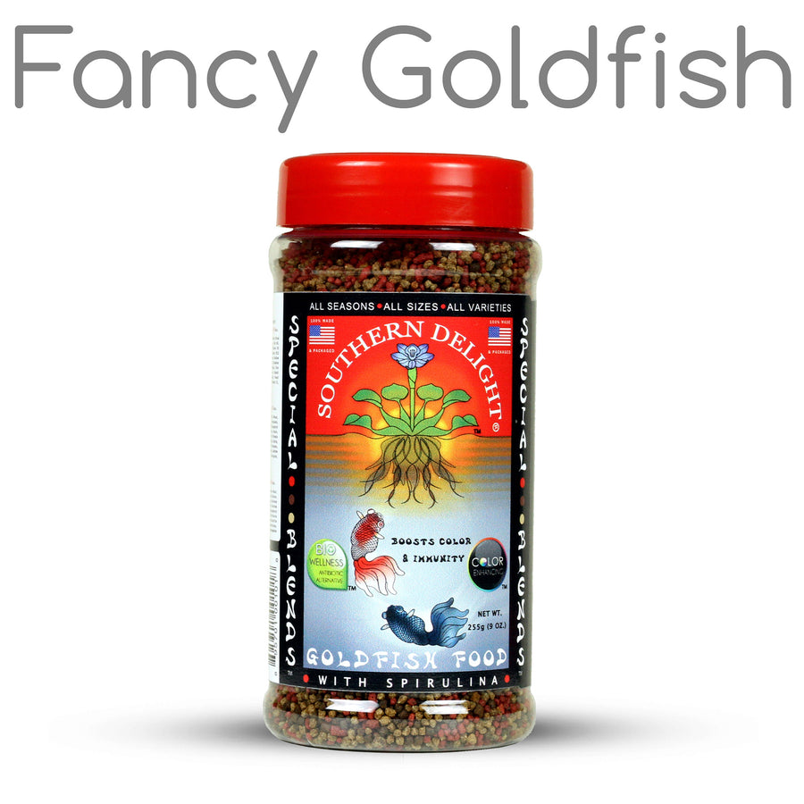 Fancy Goldfish Food Bottle