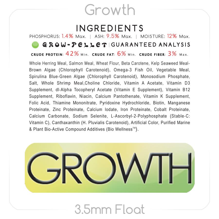 Growth Enhancing Food 1 lb. Big Bottle