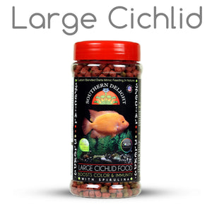 Large Cichlid Food Bottle