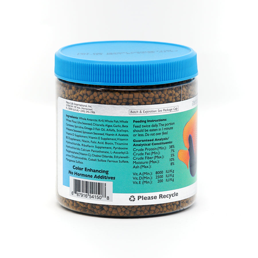 New Life Spectrum, Thera+A Tropical Fish, 250g ingredients label