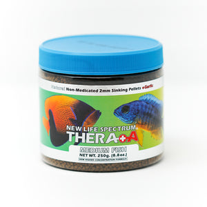 New Life Spectrum, Thera+A Tropical Fish, 250g bottle label