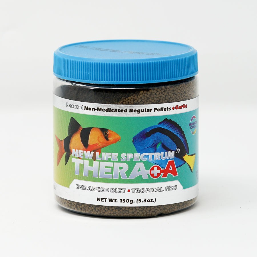 New Life Spectrum, Thera+A Tropical Fish, 150g bottle Label image