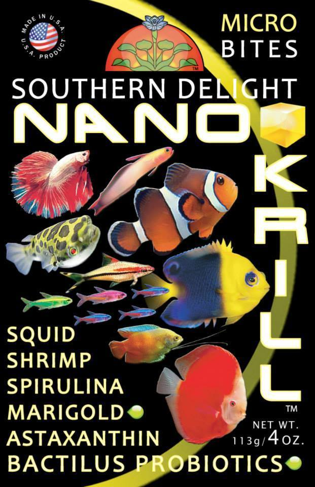 Southern Delight Nano Krill 2 Bottle Pack - 2.5 lbs