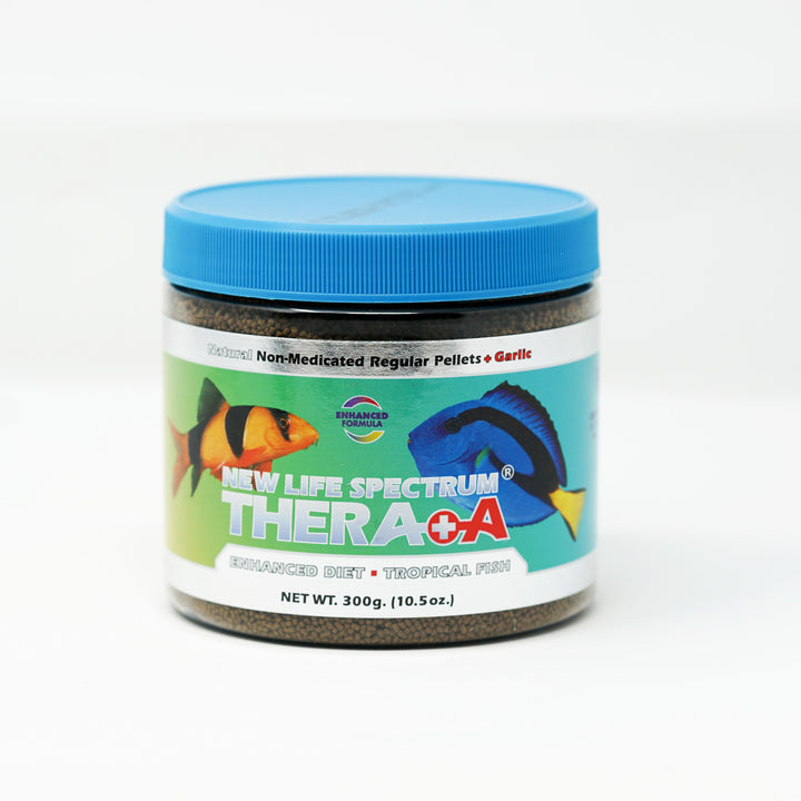 New Life Spectrum, Thera+A Tropical Fish, 300g bottle label