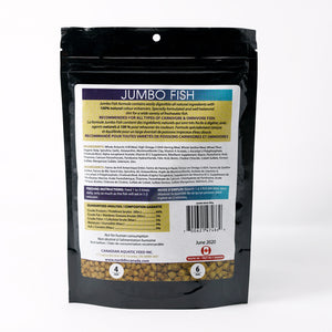 NorthFin Jumbo Fish - 4mm Ingredients List