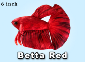 GreenPleco Red Betta Plushie
