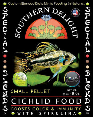 Small Cichlid Food 1.125 lb. Big Bottle