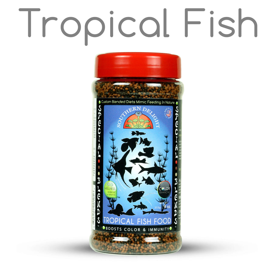Tropical Fish Food Bottle