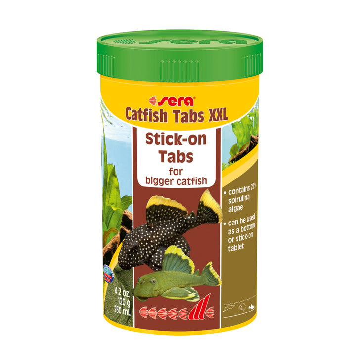 Sera Catfish Tabs XXL - 250ml, offered by Aquatic Support Systems