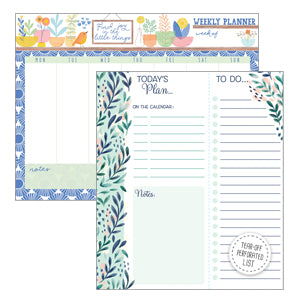 Daily/Weekly Planner Pads