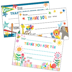 Kid's Thank You Postcards
