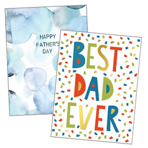Father's Day Cards - Single Card & Envelope