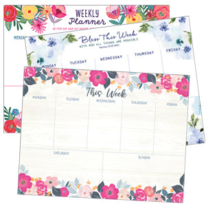 Weekly Planner Pads