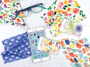 gina b designs new microfiber cloths for glasses and phone screens new summer 2019