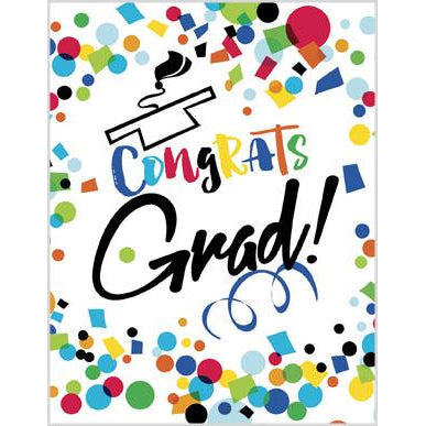 Graduation Card - Colorful Congrats, Gina B Designs