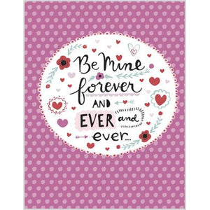 Valentine card - Be Mine Forever