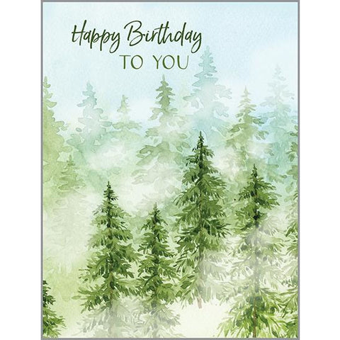 Birthday Card - Forest, Gina B Designs
