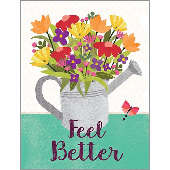 Get Well card - Watering Can, Gina B Designs