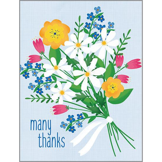 Thank You Card - Thank You Bouquet, Gina B Designs