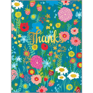 Thank You card - Flowers Galore, Gina B Designs