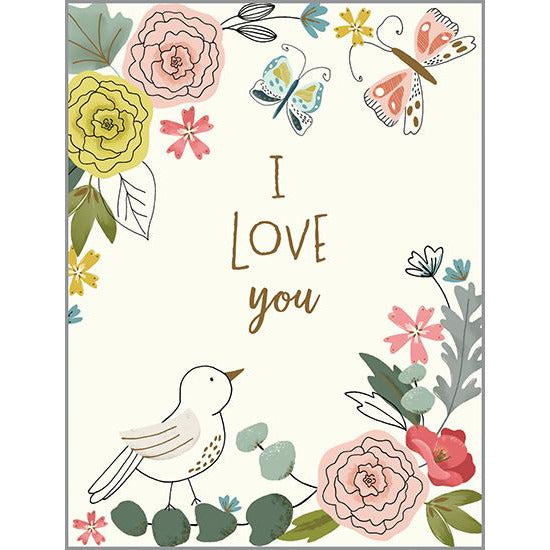 Love card - Love Bird, Gina B Designs