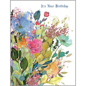 Birthday card - Serendipity, Gina B Designs