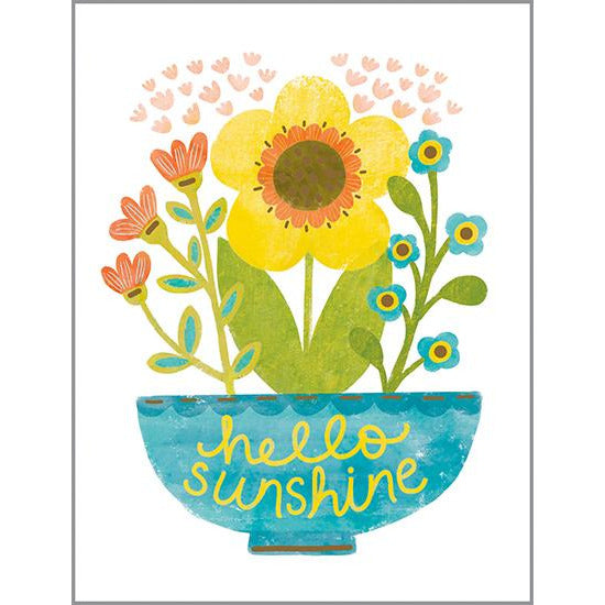 Thinking of You card - Hello Sunshine