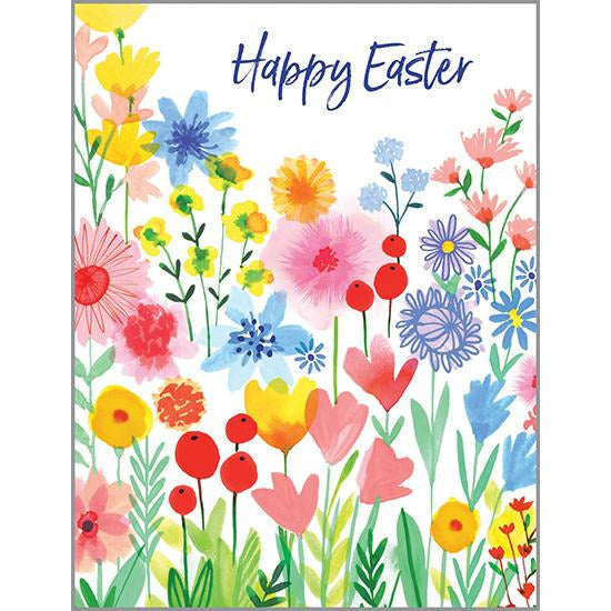 Easter Card - Bright Garden